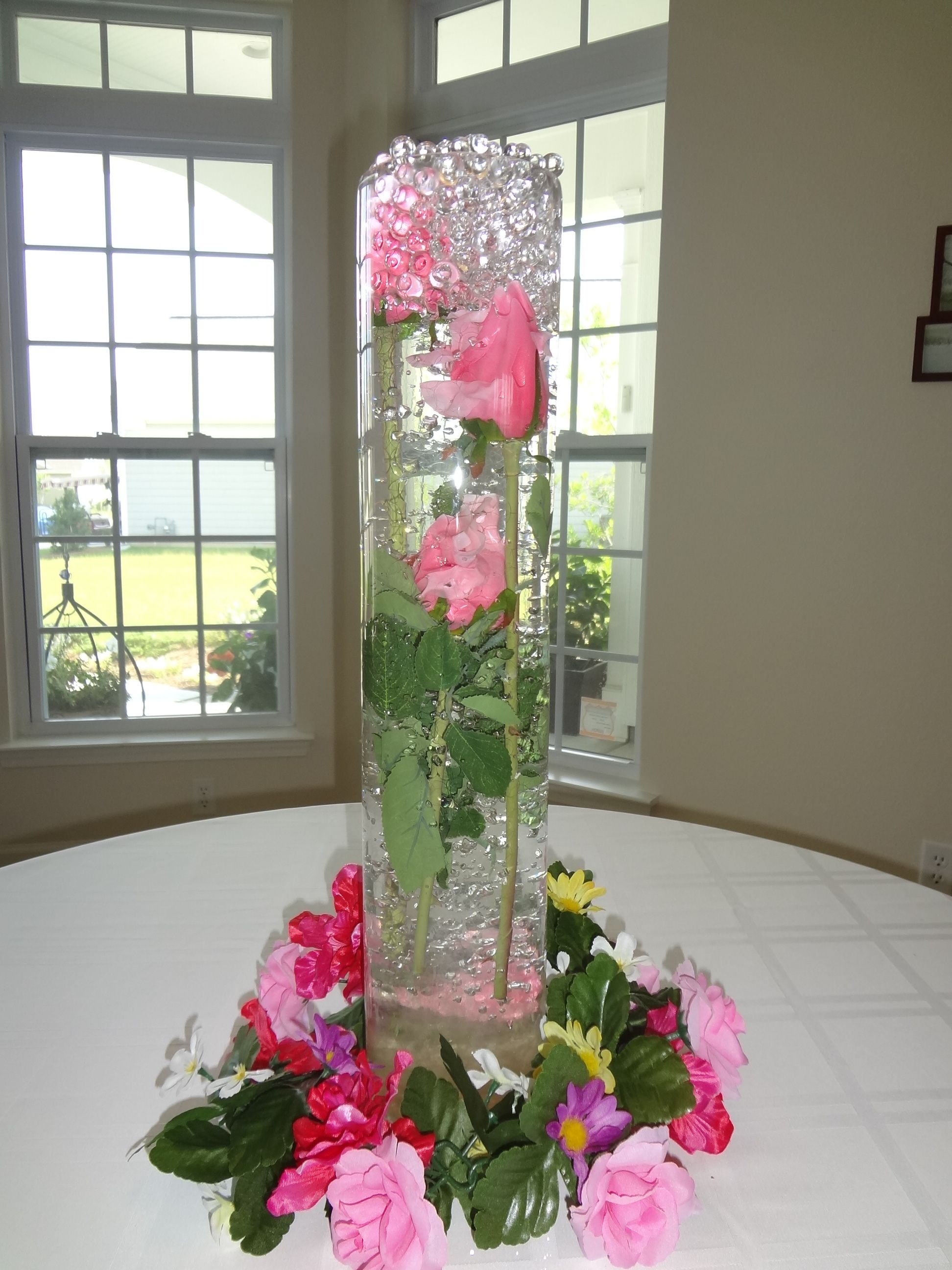 Hurricane vases with flowers in water beautiful water beads for hurricane vases with flowers in water beautiful water beads for vases an easy to reviewsmspy