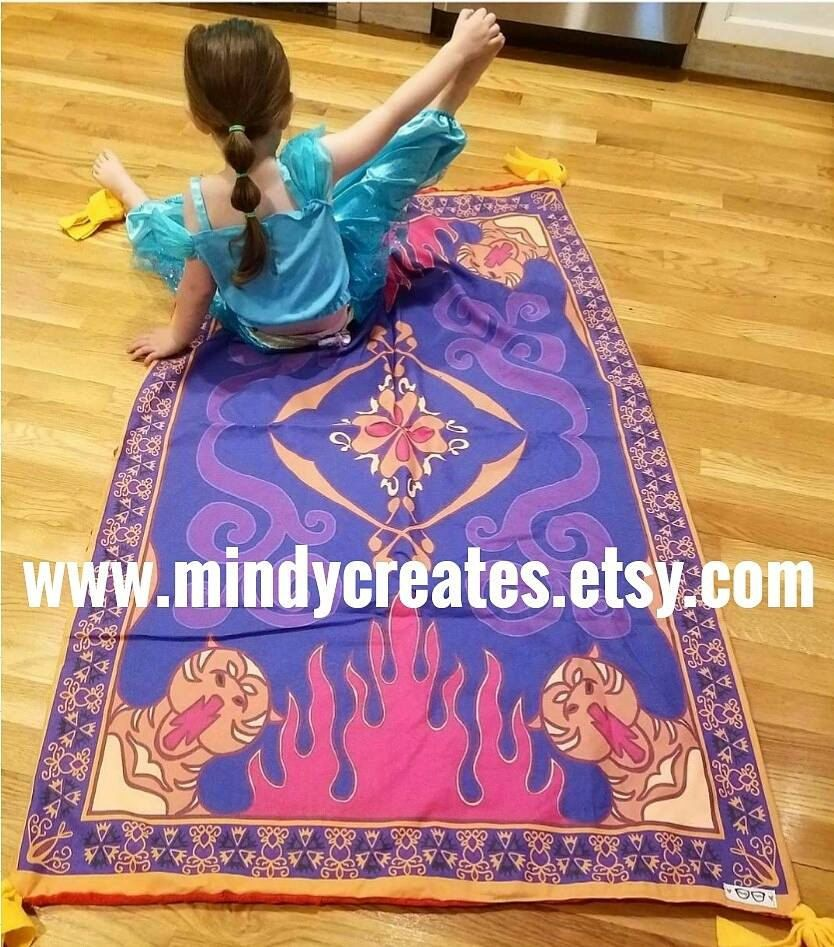 Disney Aladdin Magic Carpet Blanket! By MindyCreates On