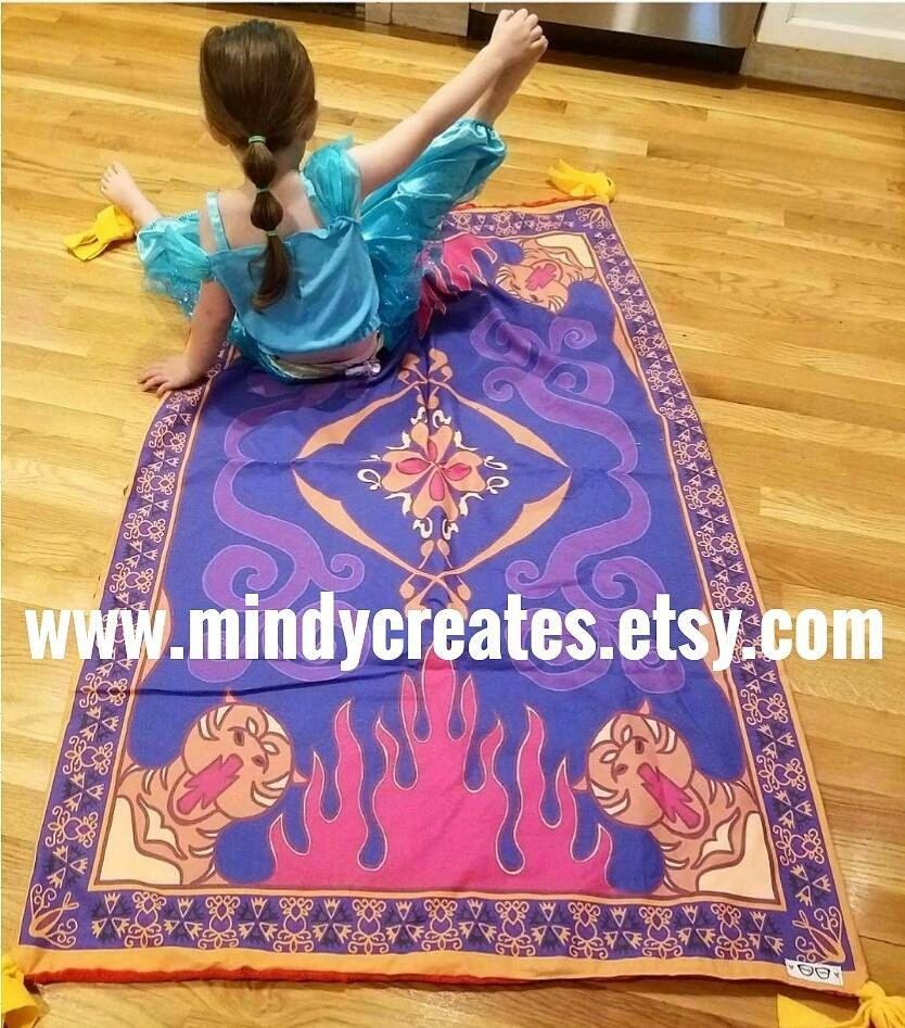 Disney Aladdin Magic Carpet blanket! by MindyCreates on Etsy https ... for Aladdin Carpet Design  197uhy