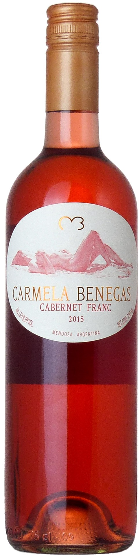 Carmela Benegas Cabernet Franc Rose 2012 Bodega Benegas Lujan De Cuyo Mendoza Best Rose Wine Cabernet Franc Rose Wine
