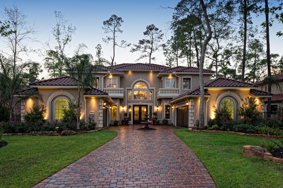 Toll brothers the mckinley mediterranean home for Most beautiful mediterranean houses