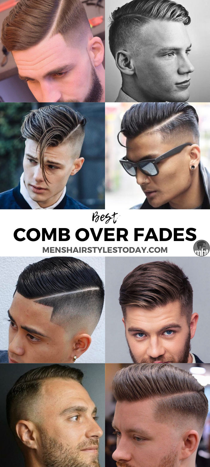 30 Best Comb Over Fade Haircuts 2020 Styles Mens Haircuts Fade Comb Over Fade Comb Over Fade Haircut