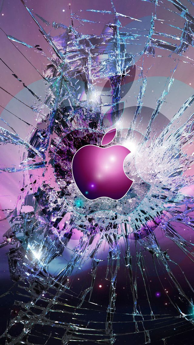 7 Broken Screen Wallpapers For Apple IPhone 6 And