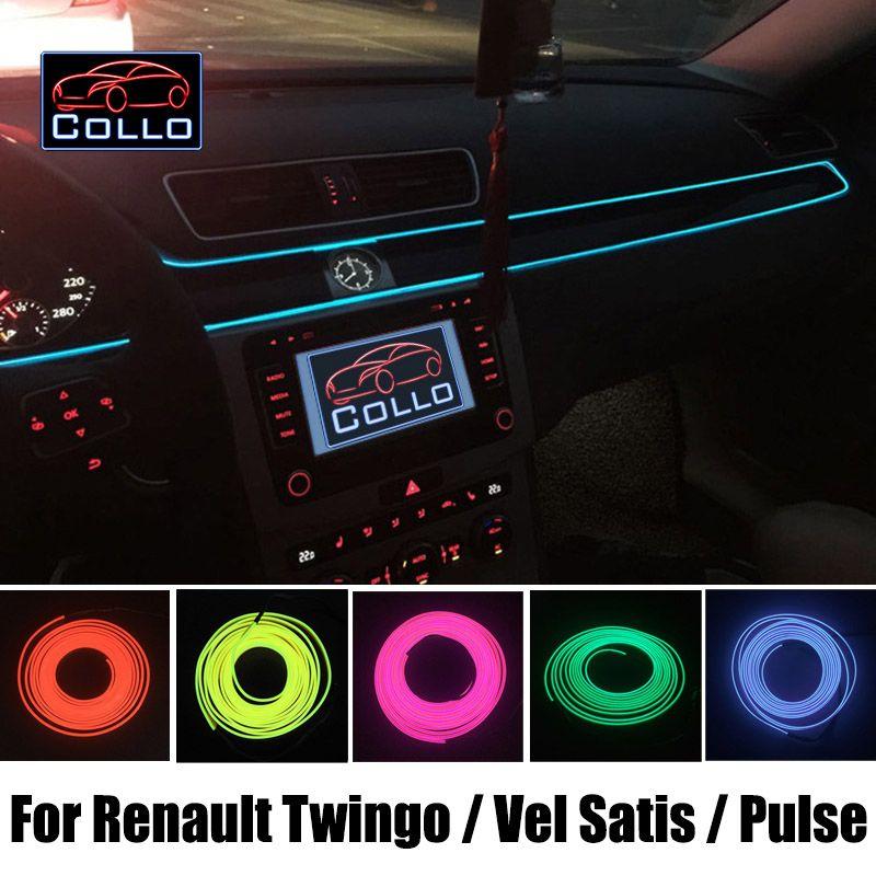 9M EL Wire DIY For Renault Twingo 1 2 3 / Vel Satis / Pulse / Car ...