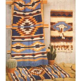 Tahoe Afghan Pattern | Crochet Southwestern Afghans | Afghan