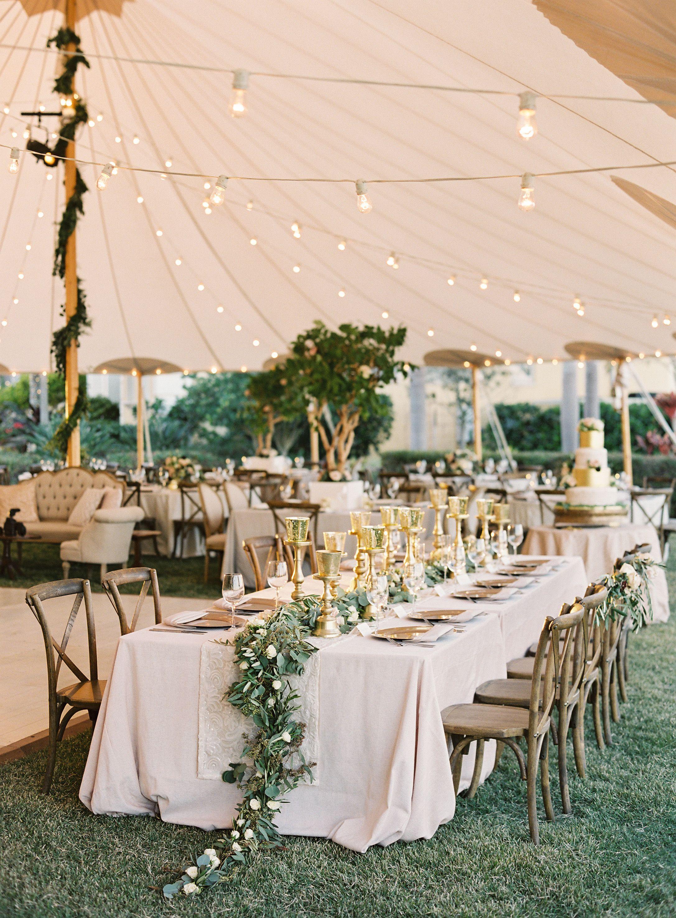 An At-Home Wedding We\'d Die to Attend! | Wedding venues, Weddings ...