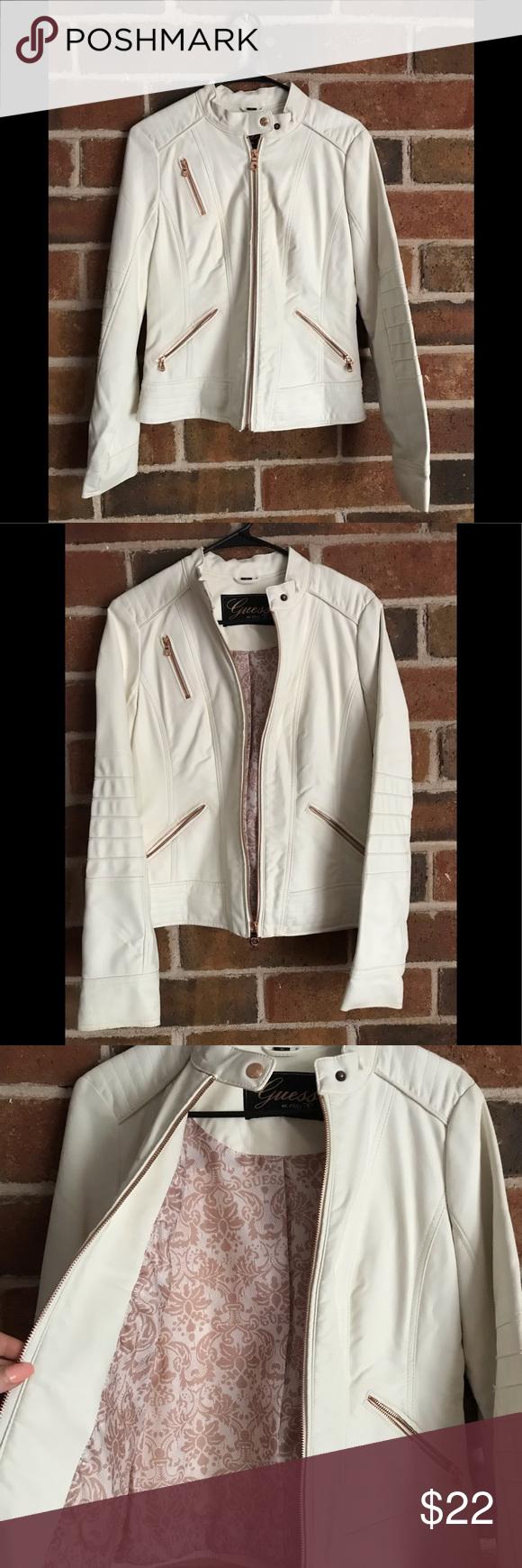 White Jacket White Jacket Pleather Jacket Jackets [ 1740 x 580 Pixel ]
