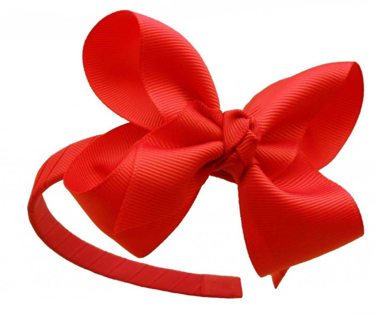 Snow White - Headband & Removable Large Red Bow