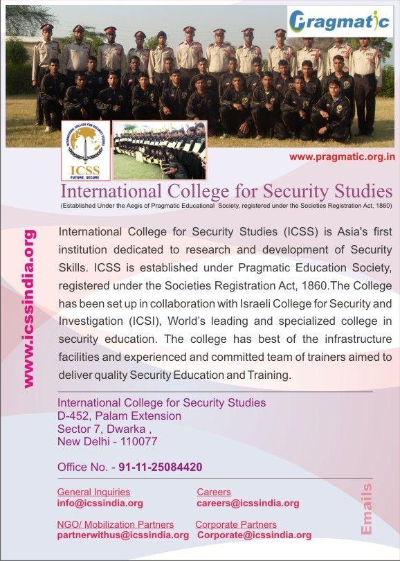 Security Officer Programme #Training of Trainer #DGR Sponsored