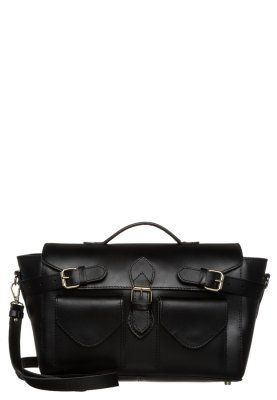Mint Berry Torba Na Ramie Black Zalando Pl Satchel Bags Messenger Bag