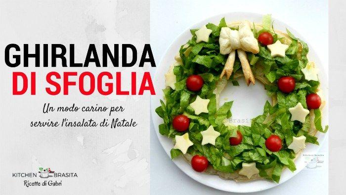 Photo of Ghirlanda-natale-da-Mangiare-di-pasta sfoglia