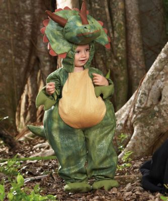 triceratops boys costume - Three horns on your head is a pretty awesome trick.