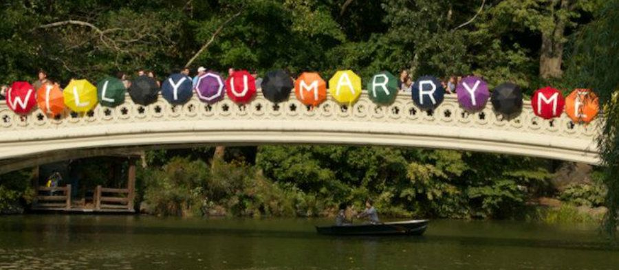 Central Park Gay Marriage Proposal So Romantic Get Your Geek On