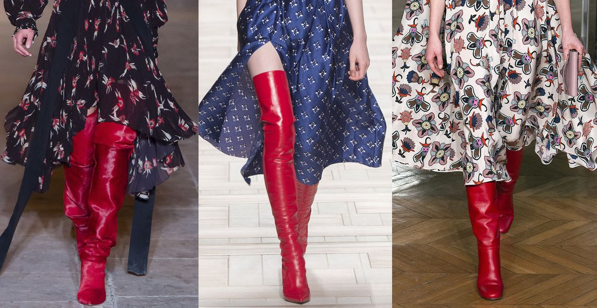10 shoe trends for Fall/Winter 2017,2018
