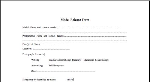 Window form free for release model