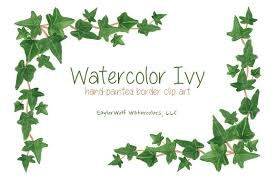 Ivy Border Clip Art Google Search Ivy Art Ill Borders For