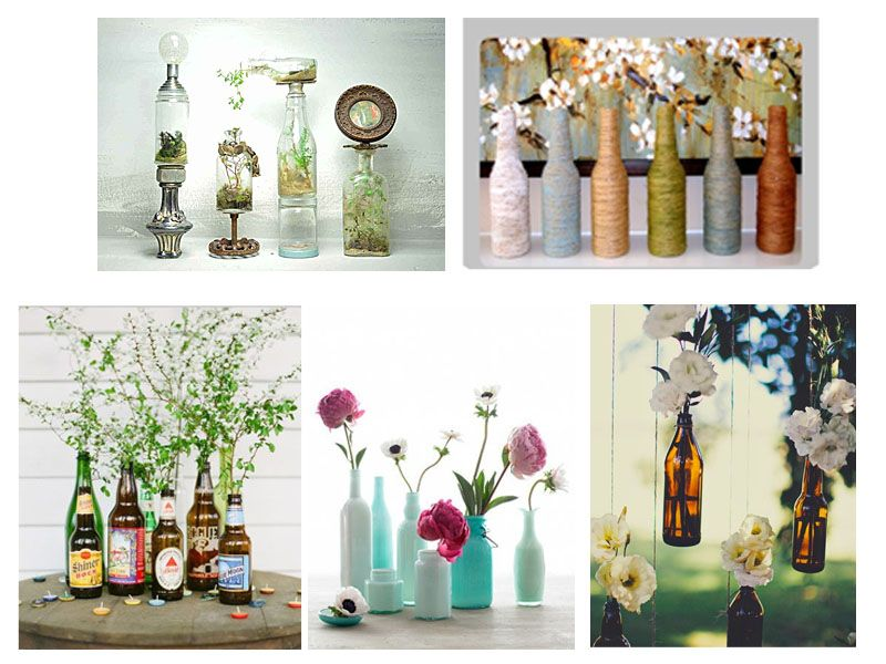 Glass Bottles Decoration 15 Uses Glass Bottles  Glass Bottle Bottle And Decoration