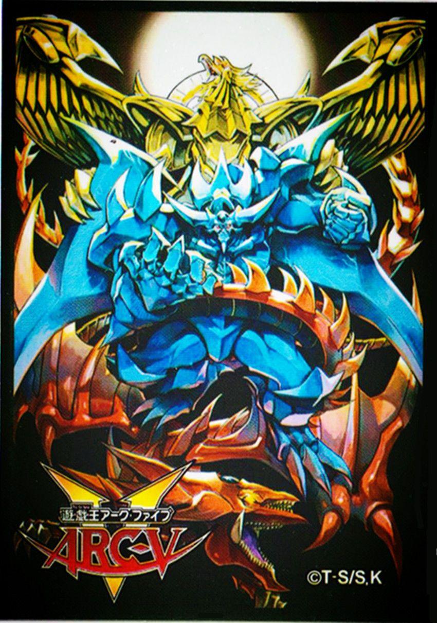 799 50yugioh deck protectors arcv 3 gods card