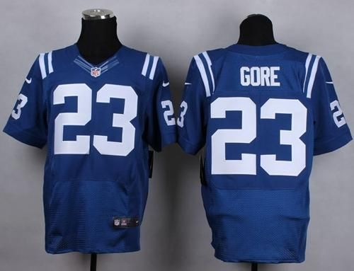 nike colts frank gore royal blue team color mens stitched nfl elite jersey and jerseys wholesale