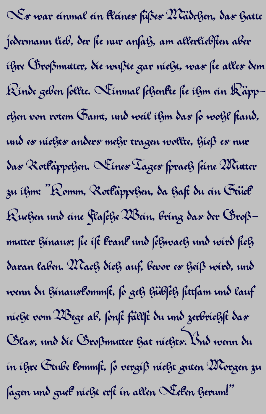 altdeutsche schriftart