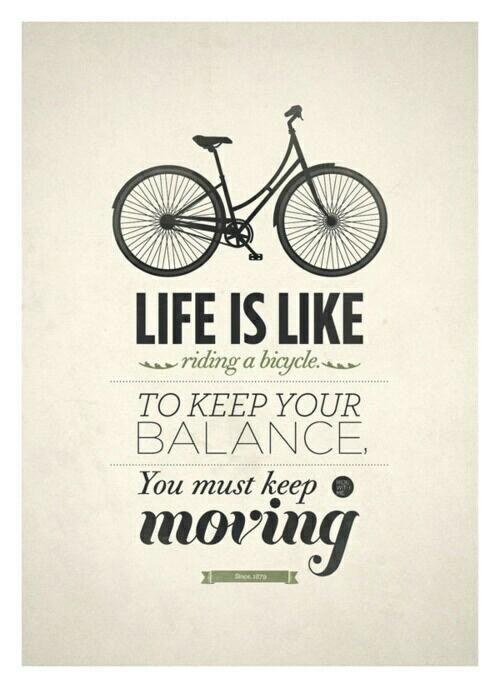 spreuken over wielrennen Life is like  | Wielrennen / Fietsen / Biking   Citation  spreuken over wielrennen