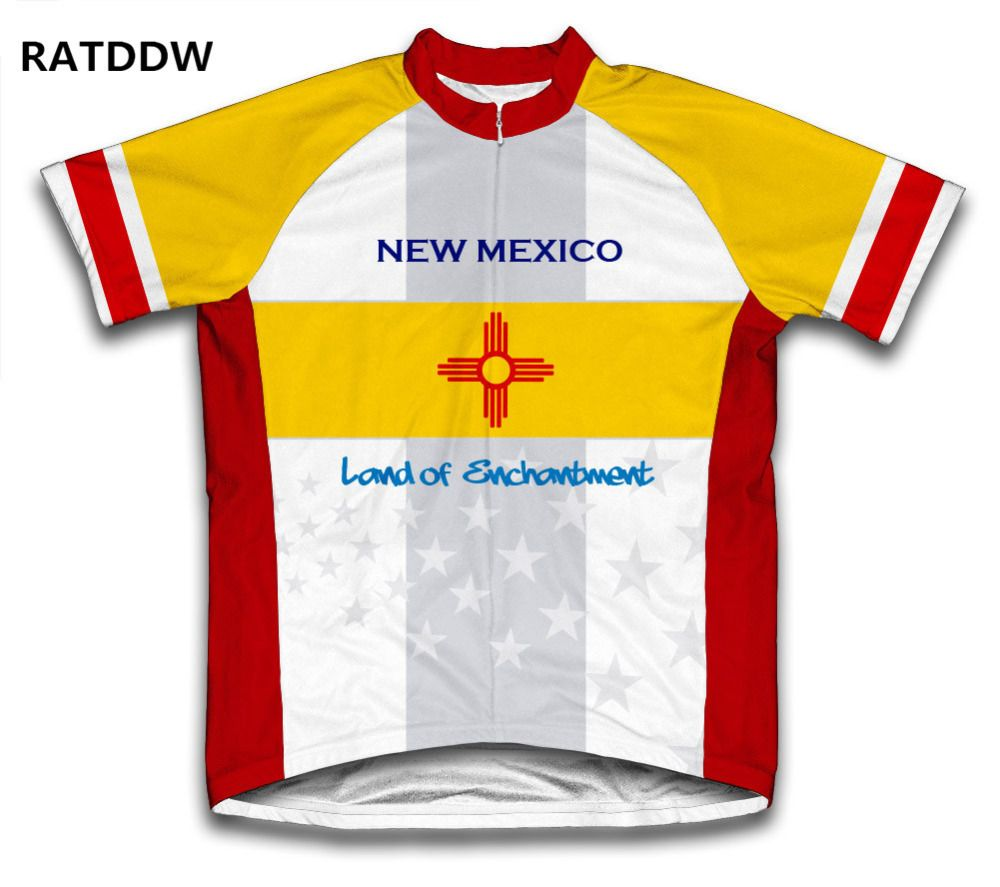 New Mexico Cycling Jersey For Men Women maillot ciclismo bike clothes  clothing sportwear Ropa Ciclismo 504dd25d0