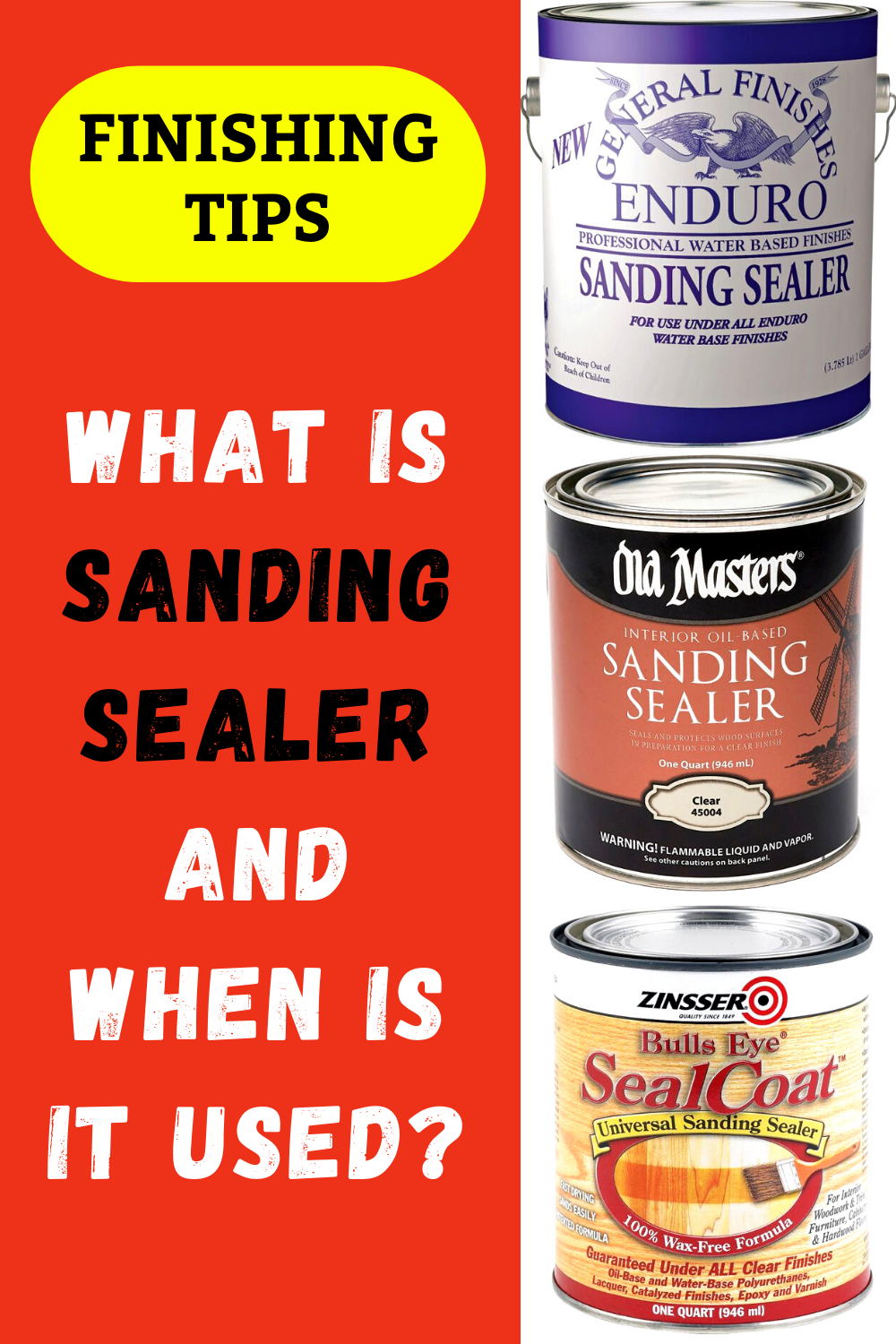 What Is Sanding Sealer When Is It Used Woodworking Finishes Beginner Woodworking Projects Woodworking Tips