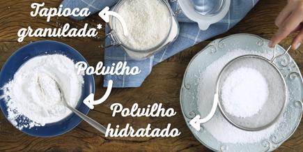 Como Fazer Tapioca e Crepioca | Como fazer tapioca. Tapioca. Crepioca