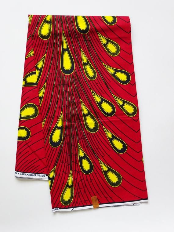 African print fabric sold by yard/ Ankara fabric/ Electric bulb ankara/ African Supplies for dress skirt/ Yellow African fabric/ african wax #africanprintdresses