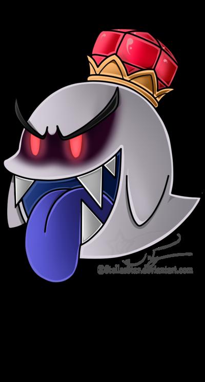 Paper King Boo King Boo Mario Tattoo Mario Art
