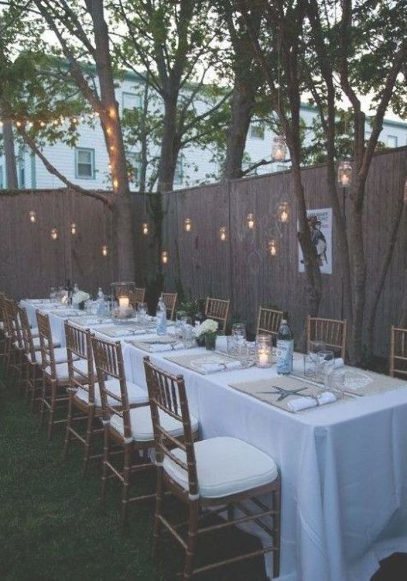 small backyard wedding ideas ketoneultras #SmallSimple # ...