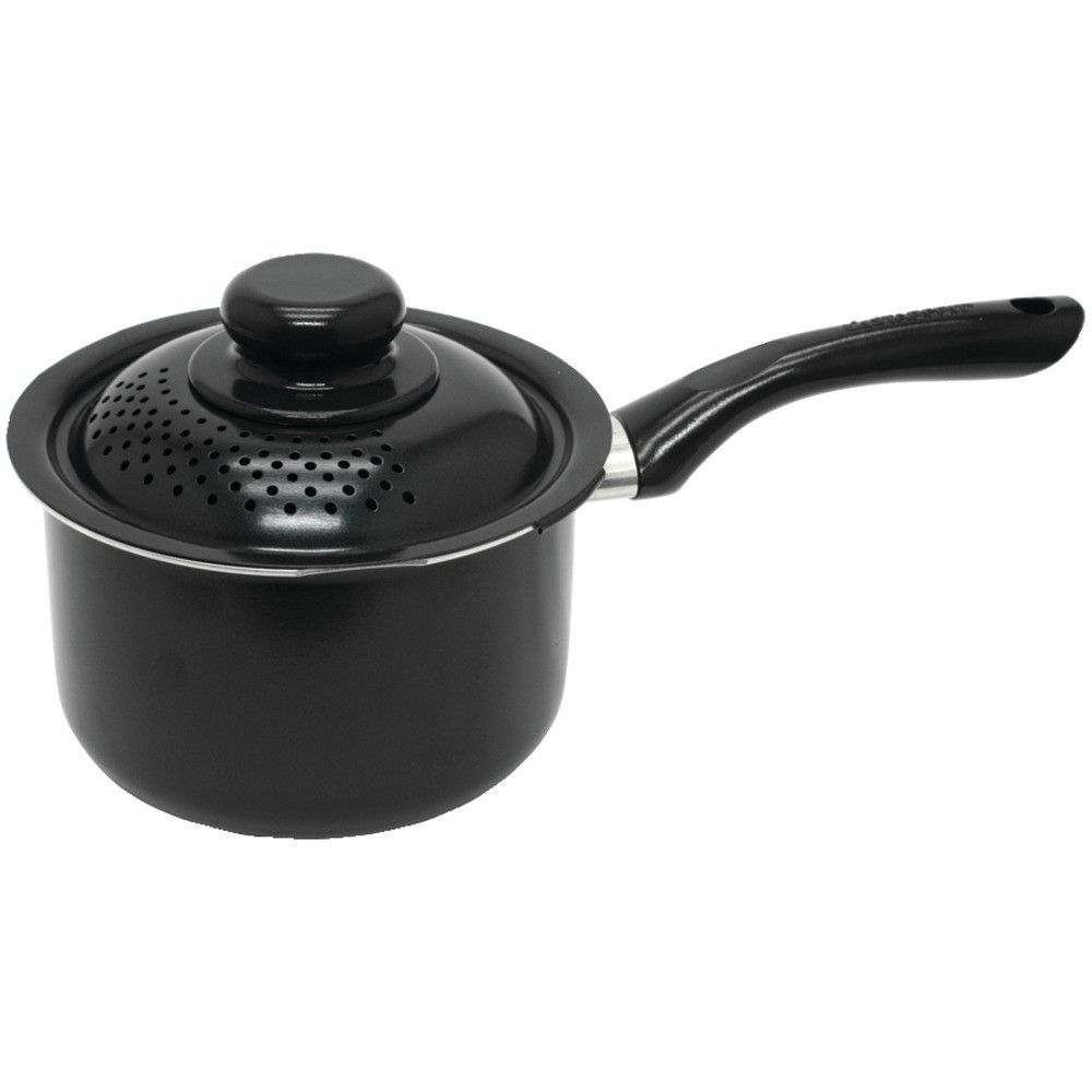 Starfrit Starbasix Saucepan With Perforated Lid (2.3qt)