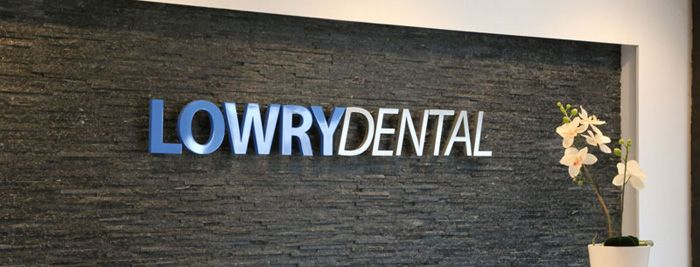dental clinic name stone wall sign | clinic | Pinterest | Dental ...