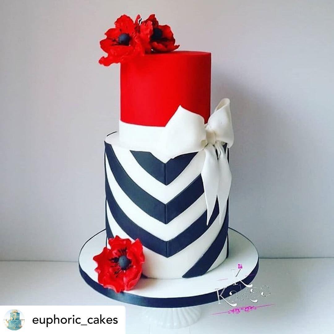 Caketutorial كيك كاب كيك كوكي كوكيز عيدميلاد عيدزواج عيد الأم تزیین کیک تزيين كوكيز مولود Red Fondant Cakes White Birthday Cakes Red Birthday Cakes