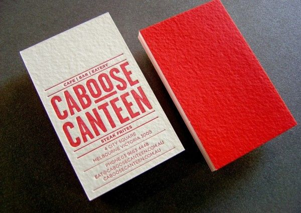 Caboose business card letterpress printed on the front offset caboose business card letterpress printed on the front offset solid printed on the back reheart Choice Image