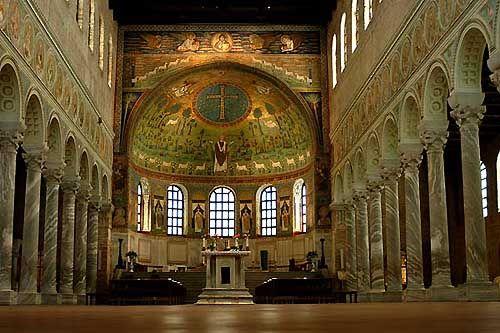 1st Golden Age Architecture Basilica Of S Apollinara In Classe