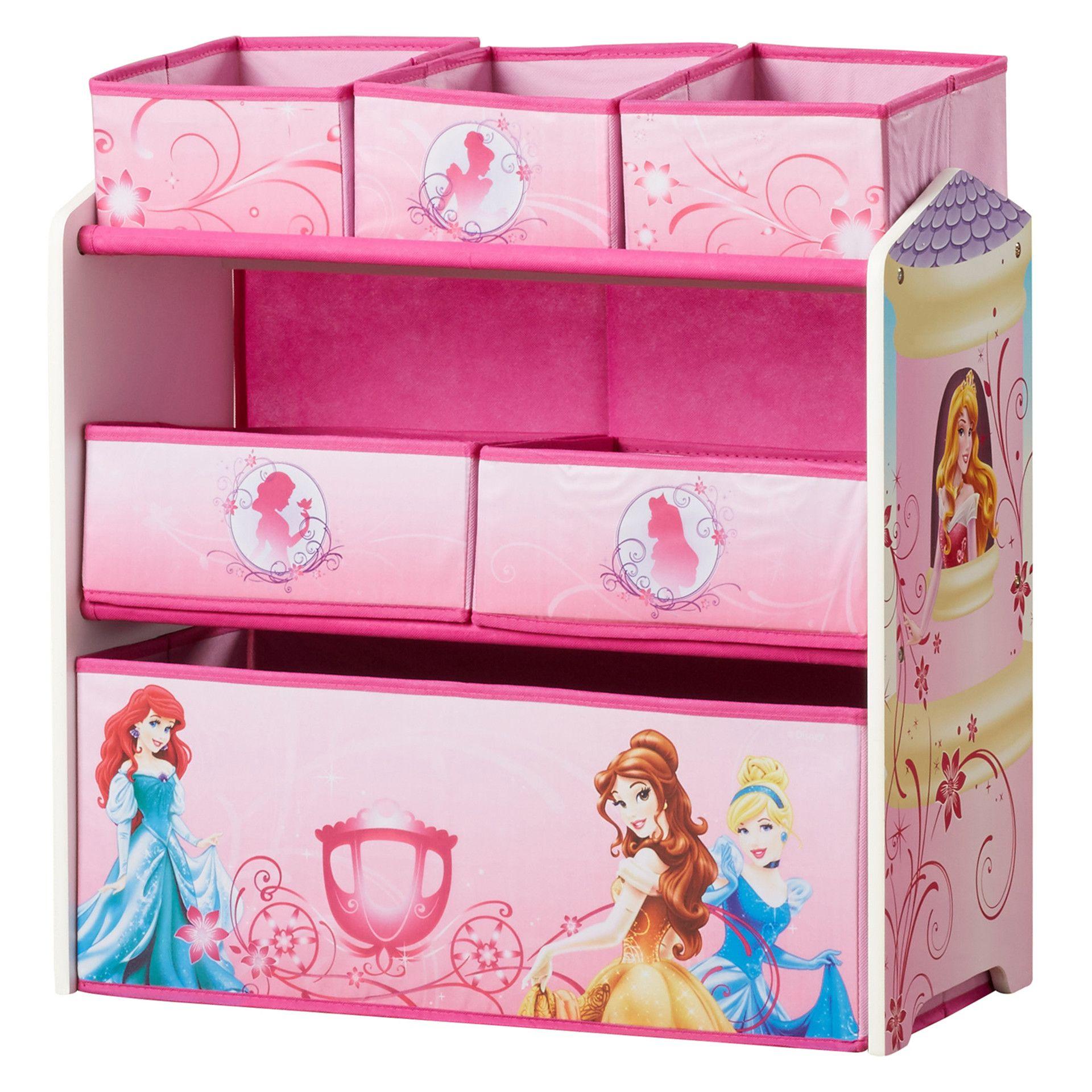 Delta Children Princess Multi Bin Toy Organizer & Reviews