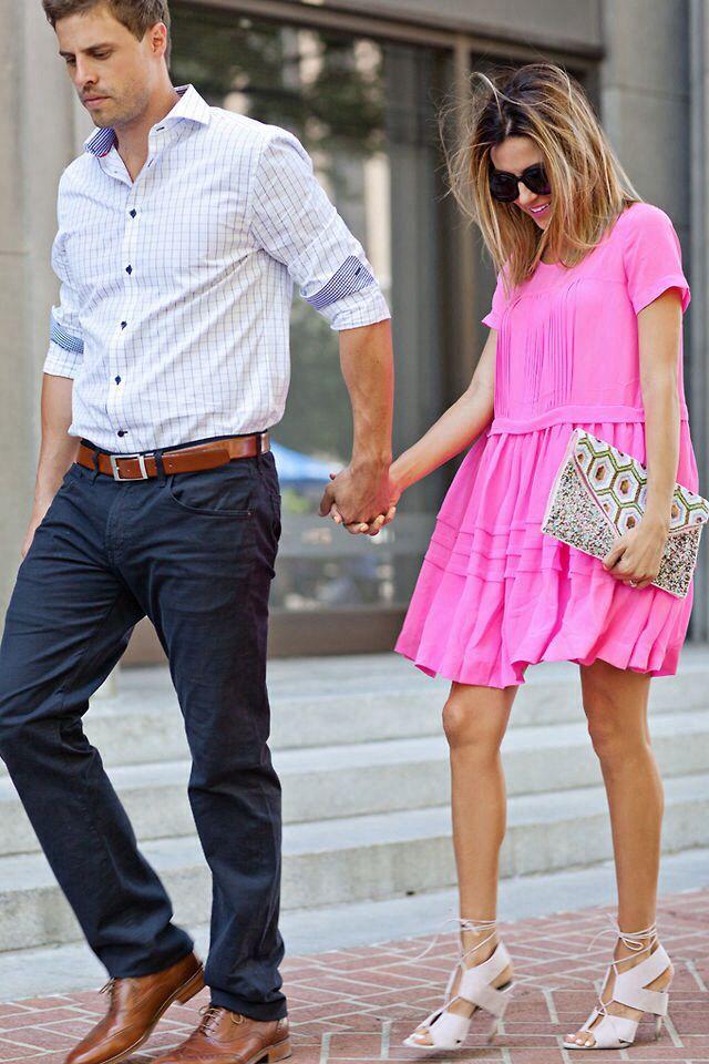 4064d5f527f Brown Dress, Fashion Couple, Men's Fashion, Fashion Trends, Trendy Fashion