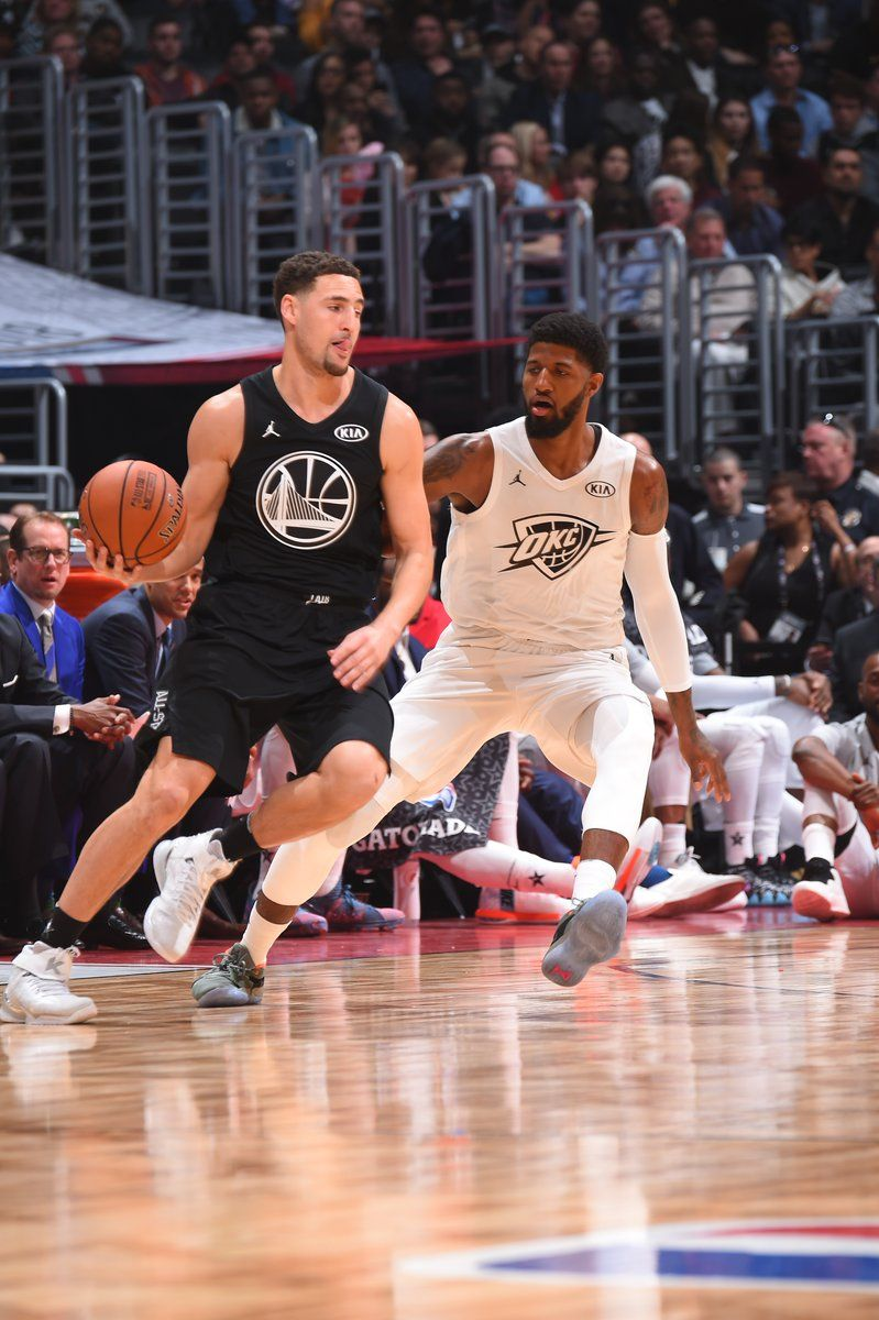 Klay Thompson at the NBA All Star Game 2018  64227955e9ab