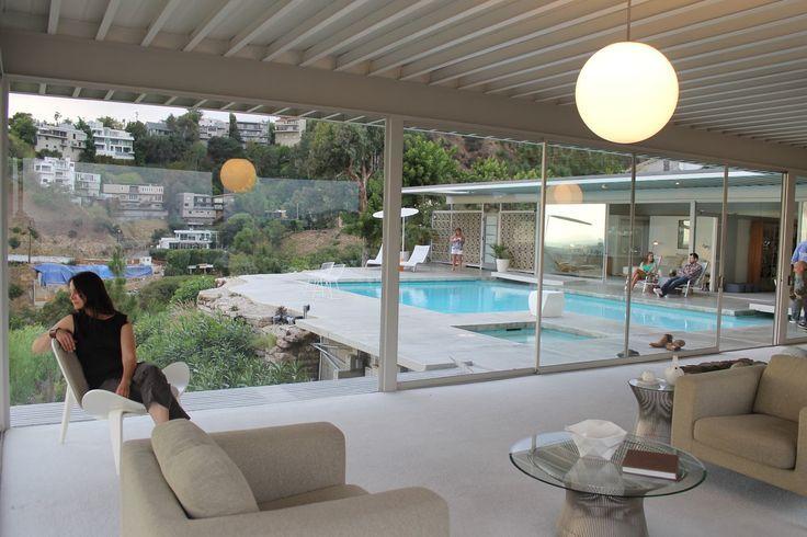Pierre Koenig Stahl House   Los Angeles 1960