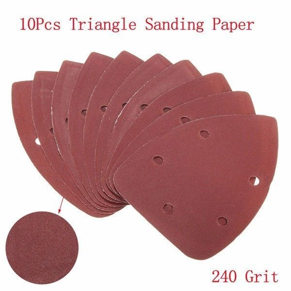 10 35 Aud New 10pcs 140x100mm 240 Grit Mouse Sanding Sheets Triangle Sandpaper Sander Pa Ebay Home Garden Products Sandpaper Ghana Seychelles