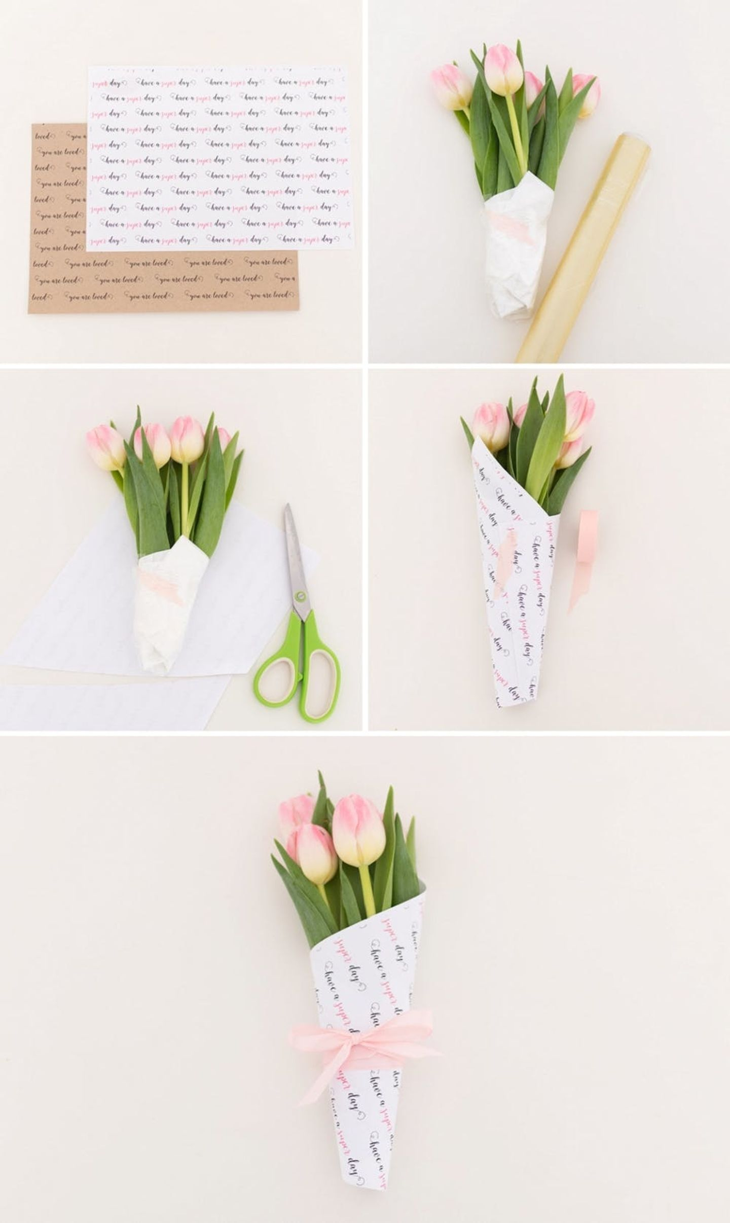 DIY Some Flower Bouquets for Random Acts of Kindness Day