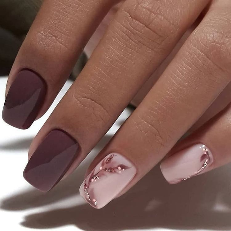 Nails; Pink Nails; Natural Nails; Solid Color Nails ...