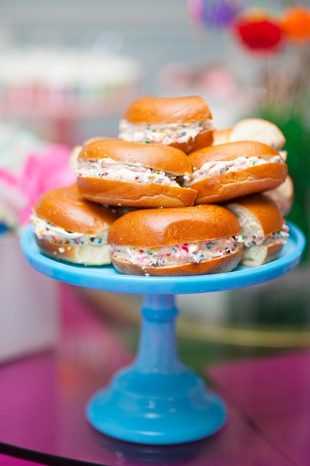 Sweet Noshings Unicorn Bagels By Amy Kritzer 9 Year Old Girl Birthday Girls Parties