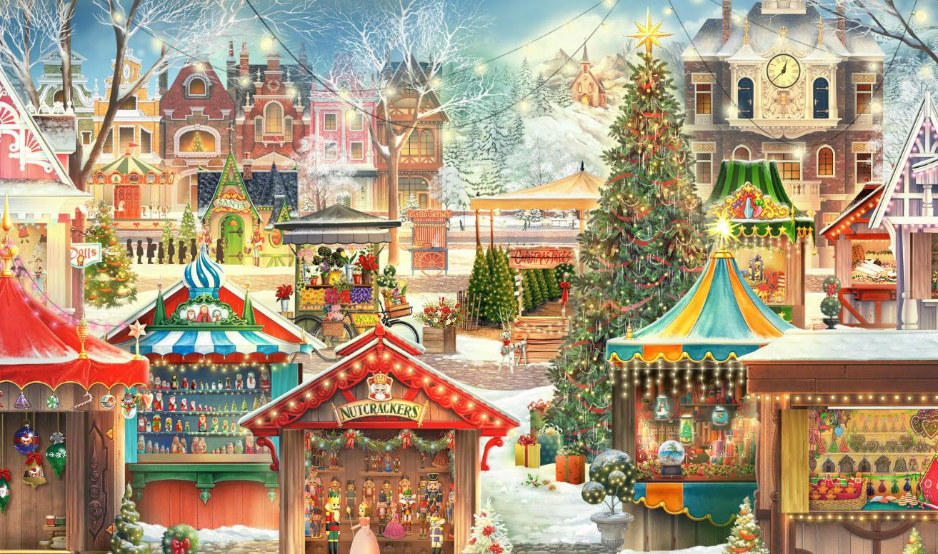 Highly Anticipated New Jacquie Lawson Christmas Market Advent