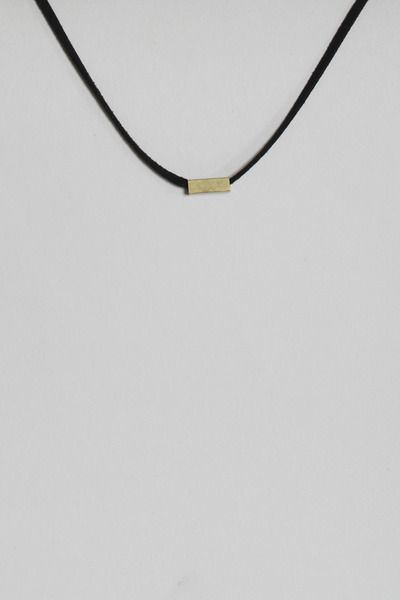 Totokaelo - Iacoli & McAllister - Necklace No. 6 - Black & Nude Multi