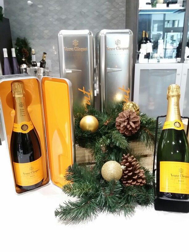 A Perfect Little Refrigerator For New Years. Veuve
