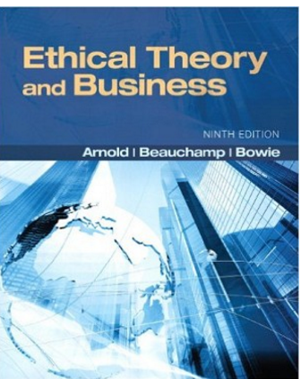 Pin On Ethical Theory And Business 9th Edition Test Bank