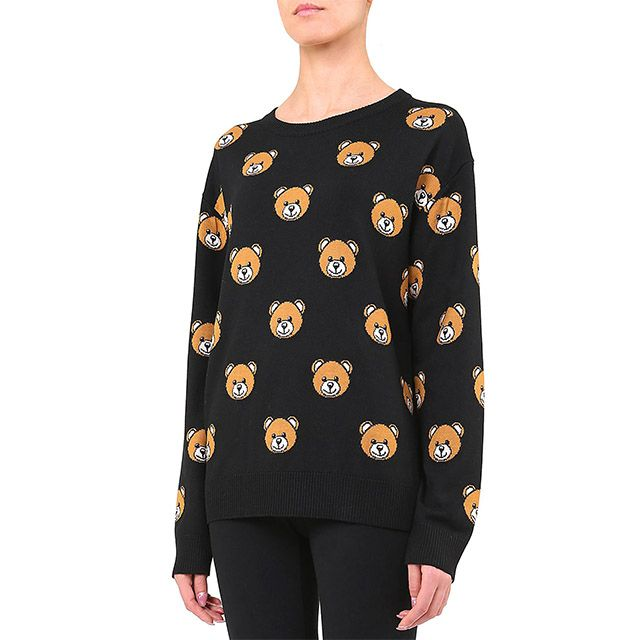 #GiftBuzz - Long Sleeve #Jumper | Moschino New Ready To Bear Capsule Collection | #Spring