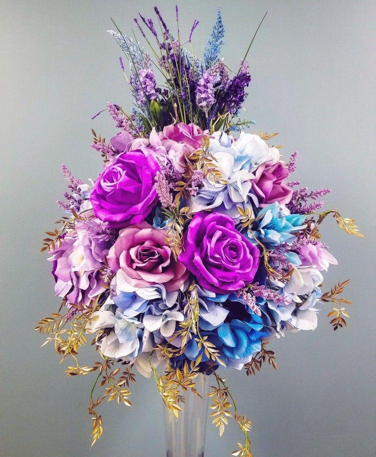 Custom Faux Flowers Arrangement Custom Orders Are Made Through My Website Shop Faux
